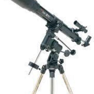赤道儀式7㎝屈折天体望遠鏡1台