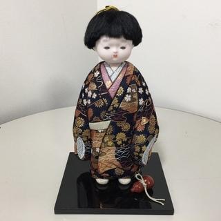 ■日本人形 瓢箪 童子 着物 / ZI-200