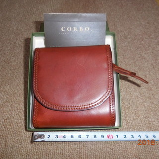 値下!【未使用】CORBO. 二つ折り財布 8LC-9364