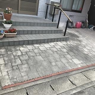 玄関・ポーチ・壁クリーニング 石・タイル・レンガ・コンクリートなど