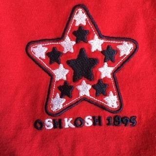 OSHKOSH Tシャツ/オシュコシュ 赤/キレイめUSED − 滋賀県