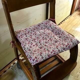 デスクチェア 木製 椅子