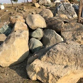 庭石 無料で差し上げます。