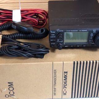 ICOM ICー706mk2とオートアンテナチューナ AHー2他