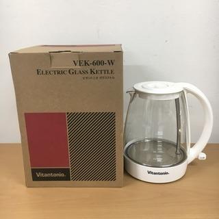 ビタントニオ ガラスケトル VEK-600