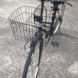 あさひオリジナル 自転車27インチ黒 引取にきていただける方限定