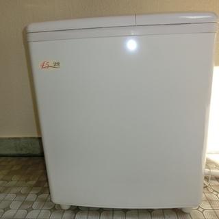 ★日立 二層式洗濯機 PS-H45L 2015年製 容量4.5K...