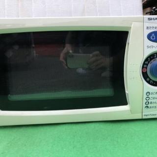 SHARP 電子レンジ 60HZ 2003年 リユース 動作品