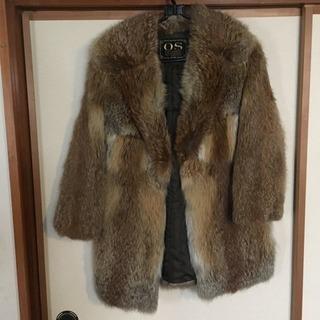 本物毛皮コート