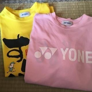 ヨネックスTシャツ2枚セット