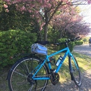 クロスバイクでサイクリング