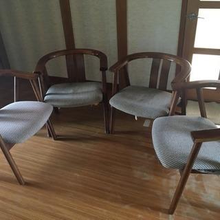 松田家具のイス4脚セットバラ売りも可