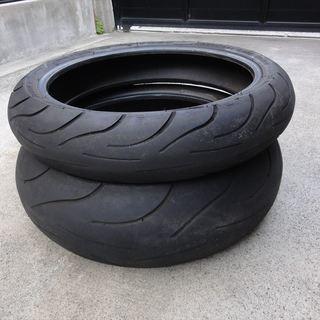 バイクの廃タイヤ(プランター等他の事に利用できる方)