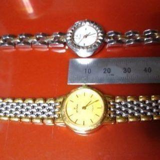 レディース腕時計 2個セットです。
