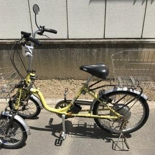 電動アシスト三輪自転車 trike SE イエロー