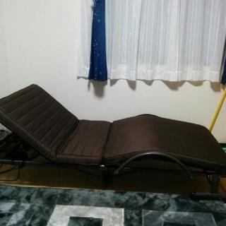 【取引完了】折りたたみ電動ベッド リクライニング 程度良好 汚れ無し