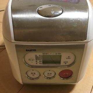 サンヨー 炊飯器 3合 2008年製