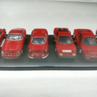 〈商談成立〉モデルカー 1/72 フェラーリ 全6台