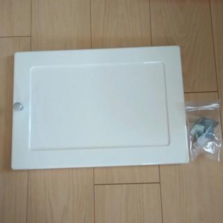 アイリスオーヤマ カラーボックス用プラスチック扉 ホワイト