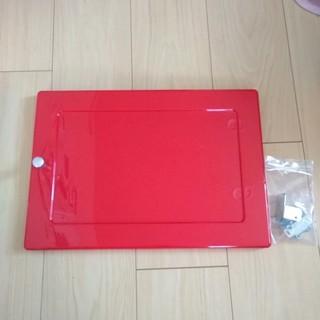 アイリスオーヤマ カラーボックス用プラスチック扉 レッド