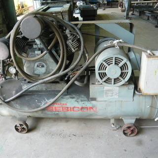 日立 大型コンプレッサー15KW タンク280リットル 約20馬力??