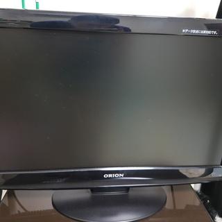 お買い得2010年製ORION22インチ地デジ専用液晶テレビ