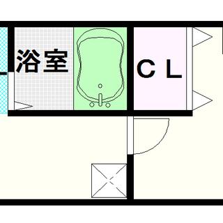 【サウスヒルズ難波Ⅲ番館】1号タイプ!1Kタイプ!大国町駅の真上で...