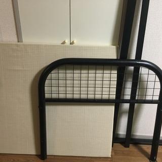 組み立て式シングルベッドフレーム