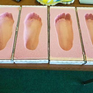足の講座&足型測定会