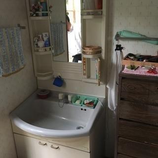 洗面台75センチ幅