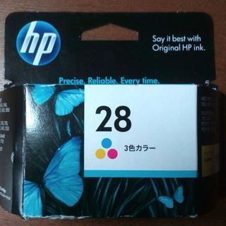 HPインクカートリッジ 28(三色カラー)
