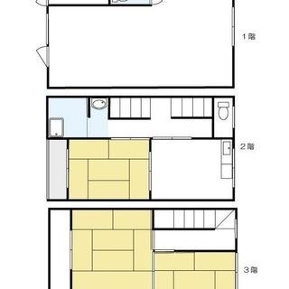 [オーナーチェンジ]  3階建て 店舗居宅両用 駐車所付き