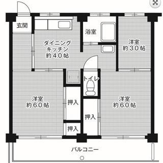 【初期費用は家賃のみ】岐阜県各務原市、嬉しい家賃の3DK【保証会社・保証人不要】 - 不動産