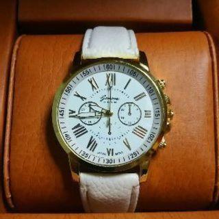 腕時計 レディース ホワイト