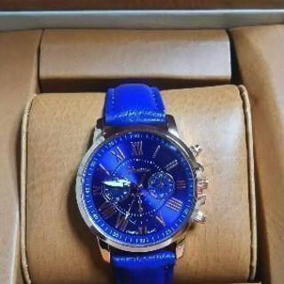 腕時計 レディース ブルー
