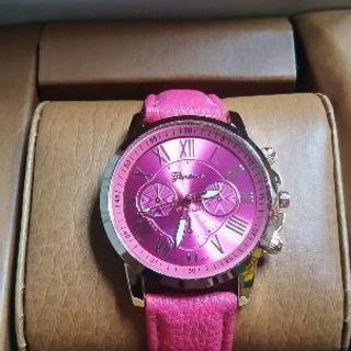 腕時計 レディース ピンク