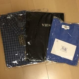 男性物新品Tシャツ&長袖シャツセット