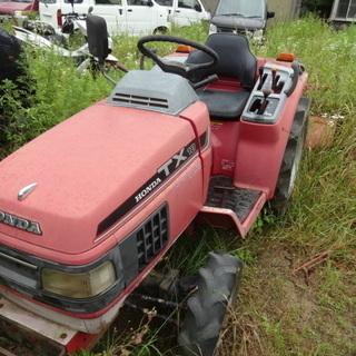 現状車 トラクター TX18 4WD 四輪駆動 18馬力 Hon...