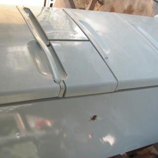 東芝2ドア冷凍冷蔵庫 400L,98年式、古いですが、まだ…
