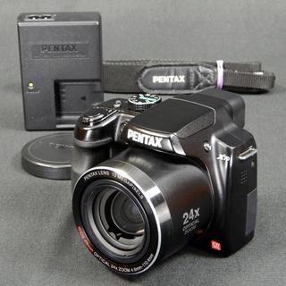 PENTAX デジタルカメラ X70 1200万画素 光学24倍ズ...