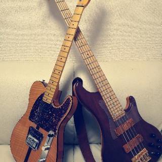 【初回無料】ギター、ベース教室