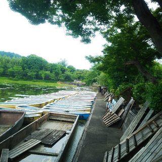 ヤマハ3人乗り手漕ぎボート