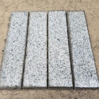 天然石敷石マット差し上げます