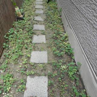路石 敷石 9個 30㎝角