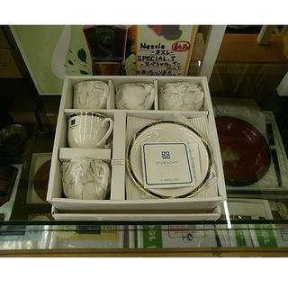 札幌 5客セット!【GIVENCHY カップ&ソーサー】ジ…