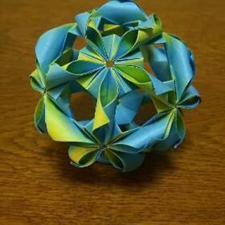 折り紙教えます。