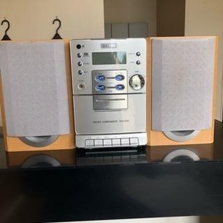 CDカセットコンポ