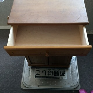 木製 ゴミ箱 - 家具