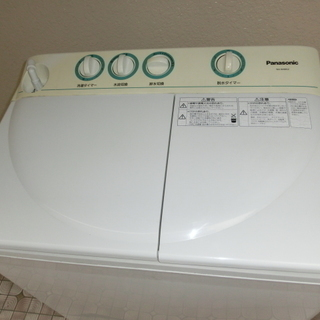 ★パナソニック 2015年 NA-W40G2 二層式洗濯機 状態...