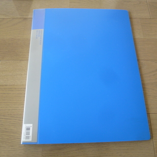 ライオン クリアーブック (スタンダードタイプ) B4サイズ 青...